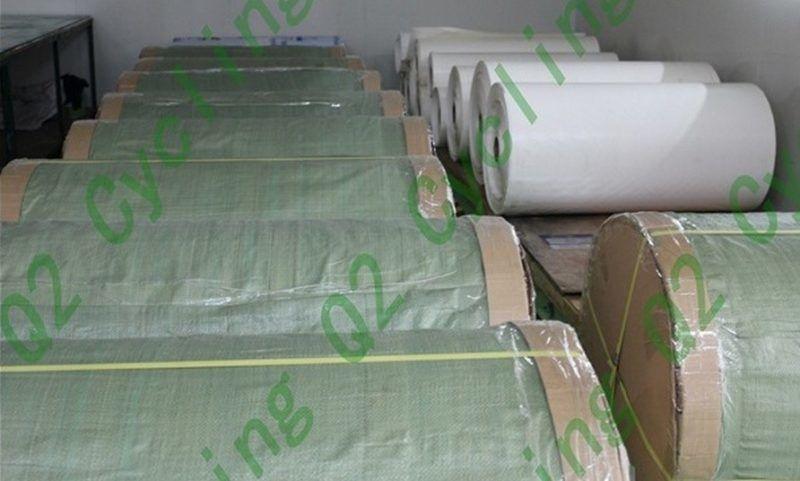 Papír pro přenos patentované pryskyřice s bodem tání T.G vyšší jak 240°C