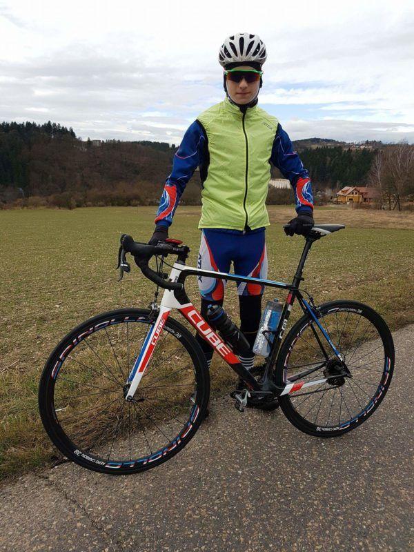 Matěj Burian – naše triatlonová naděje.