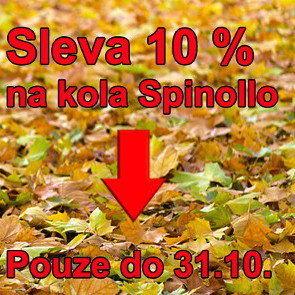Podzimní sleva na kola Spinollo