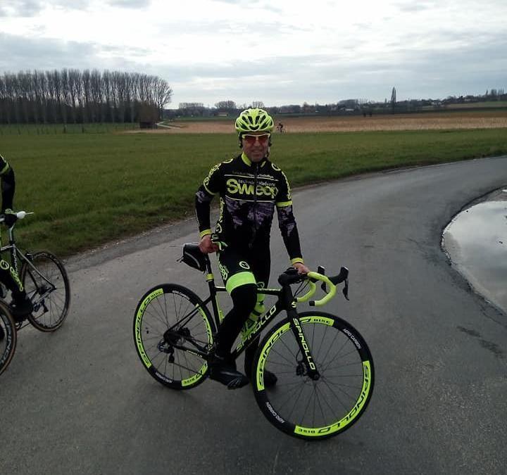Projížďka cyklistické klasiky kolem Flander.